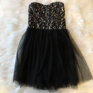 Wet Seal Sparkly Lacy Dress